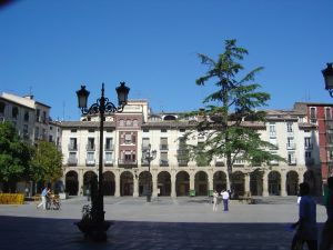 Plaza del mercado de Logroñoo/ Logroño.es